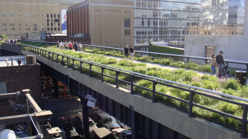 High Line, Manhattan, New York, United States
