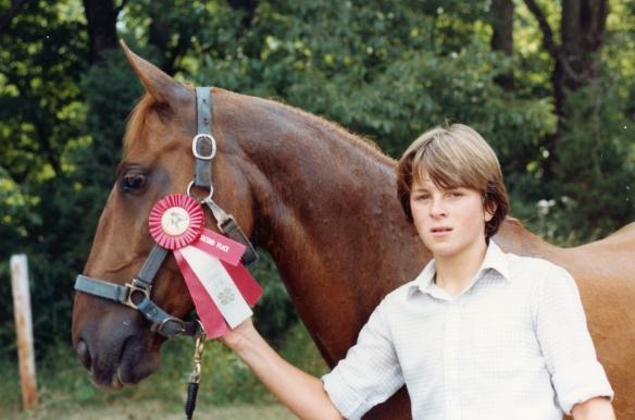 Red, Quarter Horse