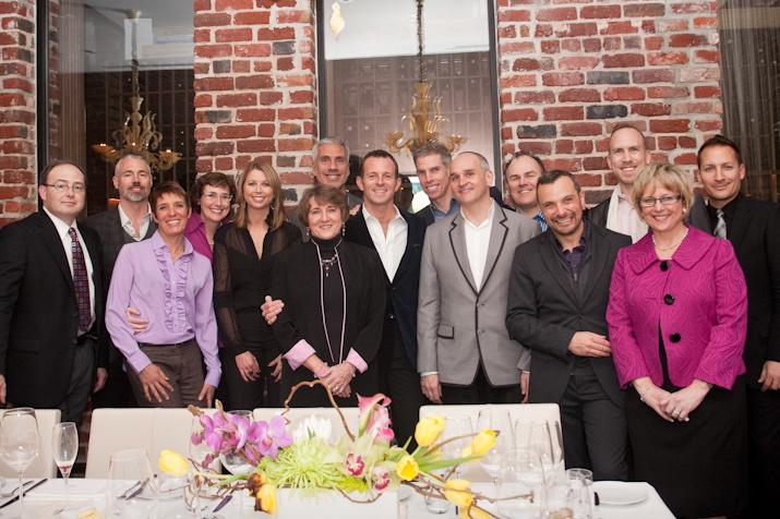 DD40 Birthday Party, Quince Restaurant, San Francisco, CA