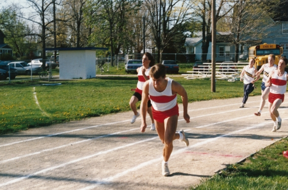 400 Meter Relay, Hanover-Horton High School, MI 1988